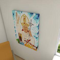 Painel decorativo João Paulo II - JMJ (John Paul II - World Youth Day