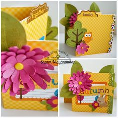 Doodlebug Design Inc Blog: Friendly Forest: From Cards to Mini Albums