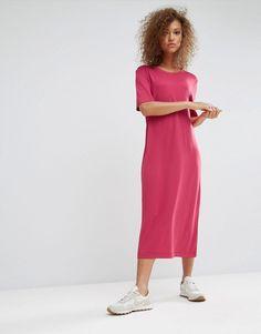 Weekday Maxi T-Shirt Dress