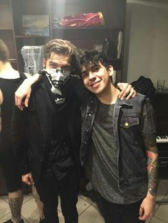 Nathaniel Drake (aka Bones from TRROTR) and Andy Leo- Crown The Empire
