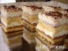 Sweet Cakes, Tiramisu, Bakery, Recipies, Food And Drink, Favorite Recipes, Sweets, Ethnic Recipes, Pastries
