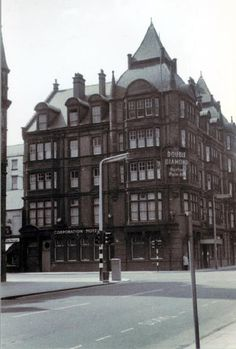 Corporation Hotel . Downtown Middlesbrough.
