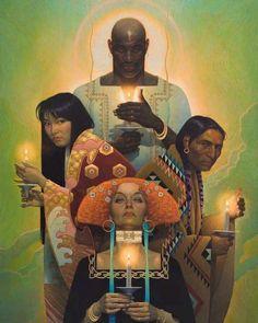 Art by Thomas Blackshear Thomas Blackshear, Conceptual Drawing, Art Through The Ages, Max Ernst, African American Art, Native American, Figure Painting, Beautiful Artwork, All Art