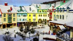 Mont-Tremblant, Quebec | 13 Canadian Mountain Towns You'll Want To Cozy Up To This Winter