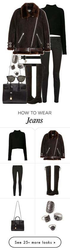 """Untitled #8218"" by nikka-phillips on Polyvore featuring Alexander McQueen, RetroSuperFuture, Proenza Schouler, Acne Studios, Forever 21, Yves Saint Laurent and Stuart Weitzman"