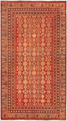 Samarkand & Khotan Rugs  The antique rugs of the oasis towns of East Turkestan are incomparable. These exotic oriental carpets from Kashgar, Yarkand and Khotan in theChinese occupied Autonomous Region of Sikiang are collectively known as Samarkands.