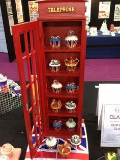 Cupcakes Take The Cake: UK Cupcake Display