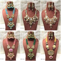 #sets #necklace #earrings #kundan #meenakari #highquality #richlook  #Beautiful #lovely #elegant #festive #wedding #trendy #designer #exclusive #statement #latest #design #ethnic #traditional #modern #indian #divaazfashionjewellery available Grab them fast 😍😍 Inbox for orders & more details plz Or mail at npsales421@gmail.com Festive, Ethnic, Necklaces, Indian, Traditional, Jewellery, Elegant, Detail, Modern