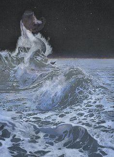 illustration by russian artist nadezhda illarionova, via her flickr #art #illustration #nadezhdaillarionova #mermaid