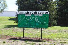 Disc Golf Sign