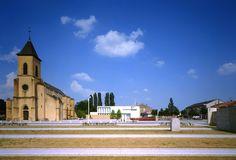 LAURENT BEAUDOUIN, SYLVAIN GIACOMAZZI ET MAXIME BUSATO ARCHITECTES : MAIRIE DE BOUSSE 시청, 부쓰