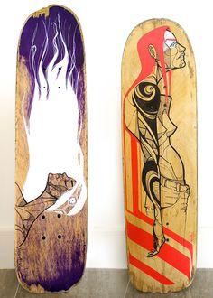 pintura de shapes de skate Skate Decks, Shape Art, Skateboard, Behance, Sculpture, Art Ideas, Illustration, Skates, Instagram