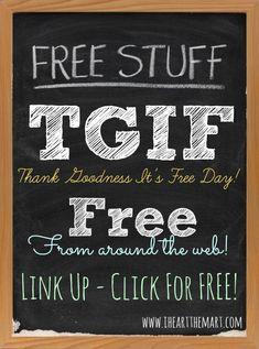 Free Stuff Friday! It's Not Just Walmart Stuff
