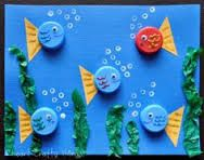 """Résultat de recherche d'images pour """"poissons arts visuels maternelle"""""""