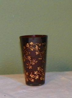 antique Moser juice cup