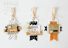 Project Life Seasonal Snapshot gift tags ~ Sarah Sagert