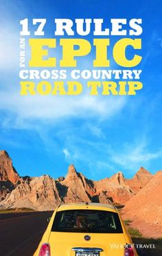 17Rules for an Epic Cross-Country Road Trip