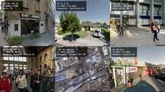 A computational surveillance system that presents a website's best attempt to see the world from its visitors' viewpoints