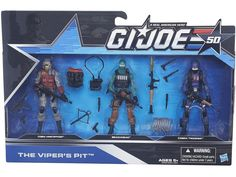 BBTS Shared Exclusive 50th Anniversary Outnumbered Team Pack Wave 01 - The Viper's Pit - GI Joe 50th Anniversary Exclusives