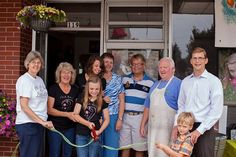 """The Village Shoppes extends a warm welcome to the """"Photo by Studio C"""" photography studio in downtown New Carlisle. We recently attended their open house and are very happy to have them as our neighbor! Check them out on Facebook!"""