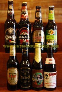 Pack #Cerveza Rubia Fuerte Una cuidada selección de nuestras mejores cervezas rubias fuertes, compuesta por cervezas de diferentes países.