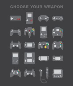 Choose Your Weapon | Game Controllers