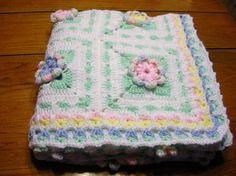 Crocheted Heirloom Baby Afghan in White and by littlestsister, $85.00