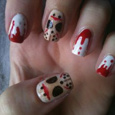Spirit halloween contest...boo!!!:)(veronica d)Scary scary Halloween nails.