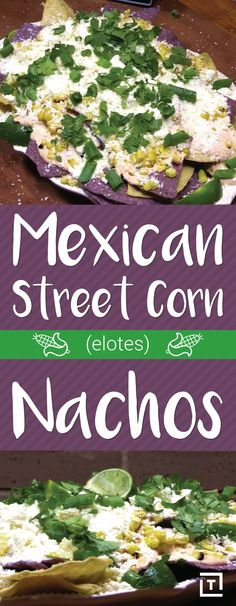 Love nachos? Love street food, period? Of course you do. You have excellent taste in snack food. Behold, Elote Nachos! We've created the ultimate summer snack, without the mess & stringy cob bits getting stuck between your teeth. You are welcome.