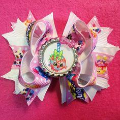 LolliPoppins Shopkins Girls Hair Bow/Toddlers Pink Bow/Pink Shopkins Hair Bow/Girly Curl Bow/Boutique Hair Bow/Girls Hair Bow/Shopkins Bow by GirlyCurlBowtique on Etsy https://www.etsy.com/listing/262648493/lollipoppins-shopkins-girls-hair
