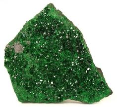 Uvarovite -- it looks like moss.  Can't wait to use some in a piece of my jewelry.