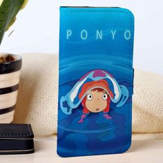 Ponyo Studio Ghibli | Anime | custom wallet case for iphone 4/4s 5 5s 5c 6 6plus case and samsung galaxy s3 s4 s5 s6 case - RSBLVD