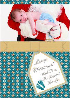 Baby Boy's First Christmas  Custom by MelindaBryantPhoto on Etsy, $5.35 photo, personalized, printable, print at home, keepsake, family, newborn