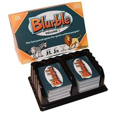 Blurble Volume 1 Card Game >>> More info could be found at the image url. Note:It is Affiliate Link to Amazon.