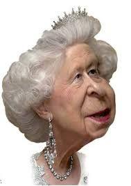 Image result for cartoon character queen elizabeth