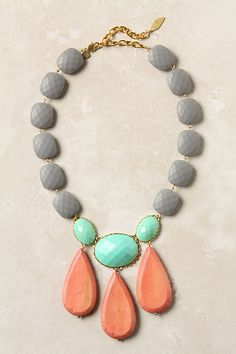 anthro necklace, lovely colors!