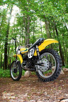 (1974) Suzuki TM125 Dirt Bike - Beautiful Restoration - Vintage Dirt Bikes