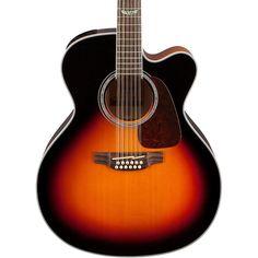 Takamine GJ72CE-12 G Series Jumbo Cutaway 12-String Acoustic-Electric