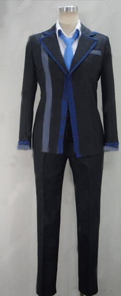 Camplayco Black Bullet Satomi Rentaro Cosplay Costume-made *** Want additional info? Click on the image.