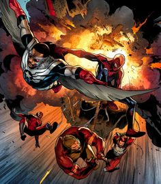 The Avengers in Rage of Ultron - Jerome Opena, Colors: Pepe Larraz