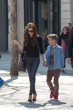 Victoria Beckham - Victoria Beckham's boys are on their way to schooling their…