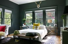 Paint Talk: Unifying a Room With One Wall and Trim Color | Apartment Therapy