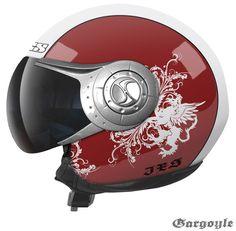 Sweet motorcycle helmet graphics