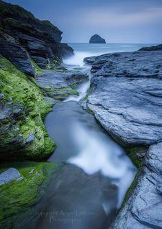 Trebarwith Strand Blues - Photography: Cornwall