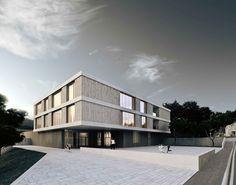 Centre scolaire à Bagnes, Atelien Architecture – BETA