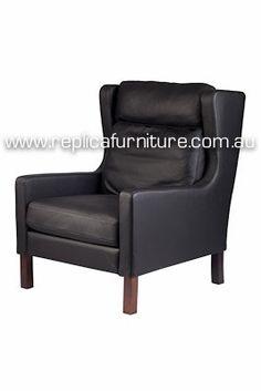 Replica Borge Mogensen Easy Chair Home Furniture Online, Cafe Furniture, Furniture Design, Reproduction Furniture, Style Lounge, Danish Style, Villa, Seat Cushions, Armchair