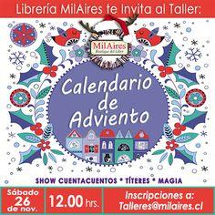 Taller Calendario Advento - MilAires, Boutique del Libro.