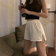 Korean Girl Fashion, Korean Fashion Trends, Ulzzang Fashion, Kpop Fashion Outfits, Korean Outfits, Girl Outfits, Cute Casual Outfits, Pretty Outfits, Skinny Inspiration