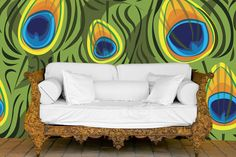 www.customizedwalls.com Peel and Stick Fabric for Murals, Wallpaper and More!