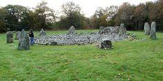 Círculo de piedras de Loanhead of Daviot, Escocia